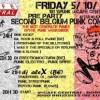 the second Belgian Punk Contest! PRE PARTY