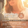 International Rooftop Party - Sat 31.08 | Cospaia x Just A Night