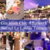 Gin Jeudi Chic Afterwork Sofitel Le Louise Backyard Terrace / Free Entrance